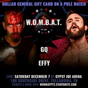 #Preview - GCW Presents WOMBAT 2